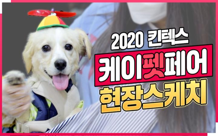 댕댕이들과 함께한 국내 최대 규모 펫박람회 '2020 케이펫페어 일산'
