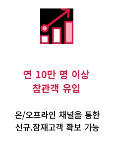 참관객 유입