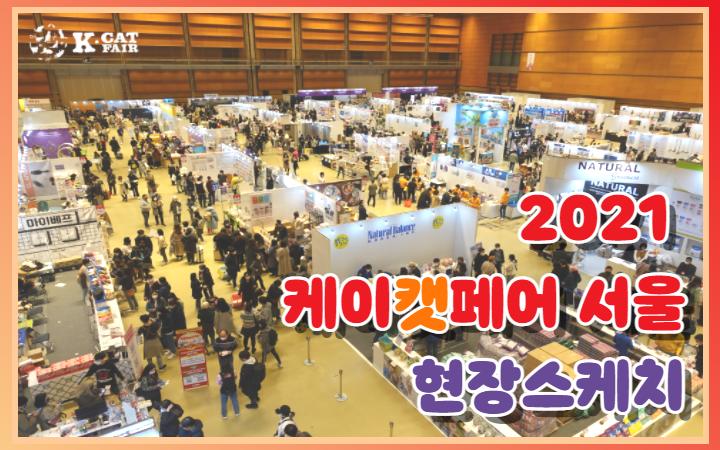 집사들을 위한 축제! '2021 케이캣페어 서울'